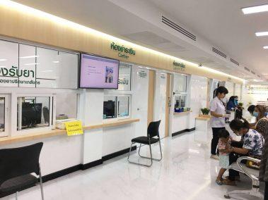 Digital Signage กับ โรงพยาบาล โรงพยาบาลองครักษ์ เลือกใช้จอประชาสัมพันธ์ ควบคุมจากส่วนกลาง