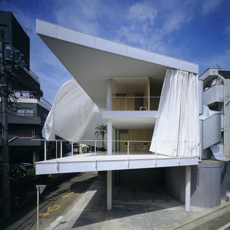 Curtain Wall House