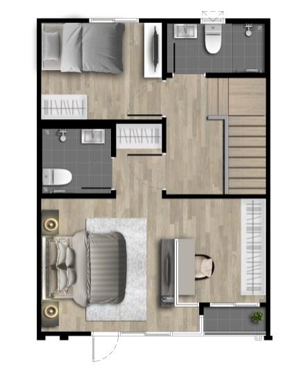Mira - Floor Plan - 17_5wa - 2F(M)