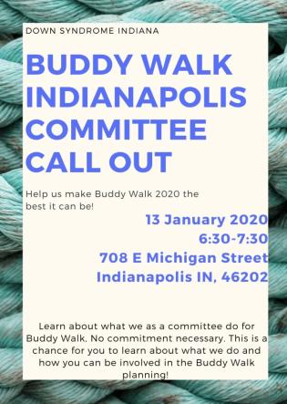 Buddy Walk Call Out Image File