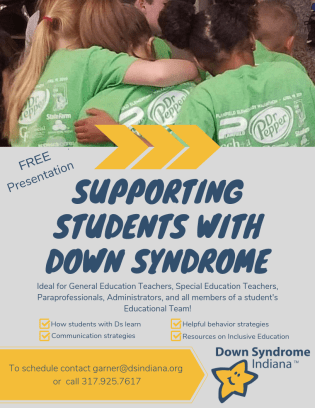 Supporting Students with Down Syndrome (3)