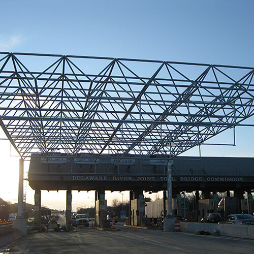 Open Road Tolling With Space Frame Structures