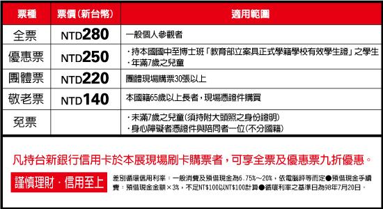Kusama Yayoi-taichung-ticket