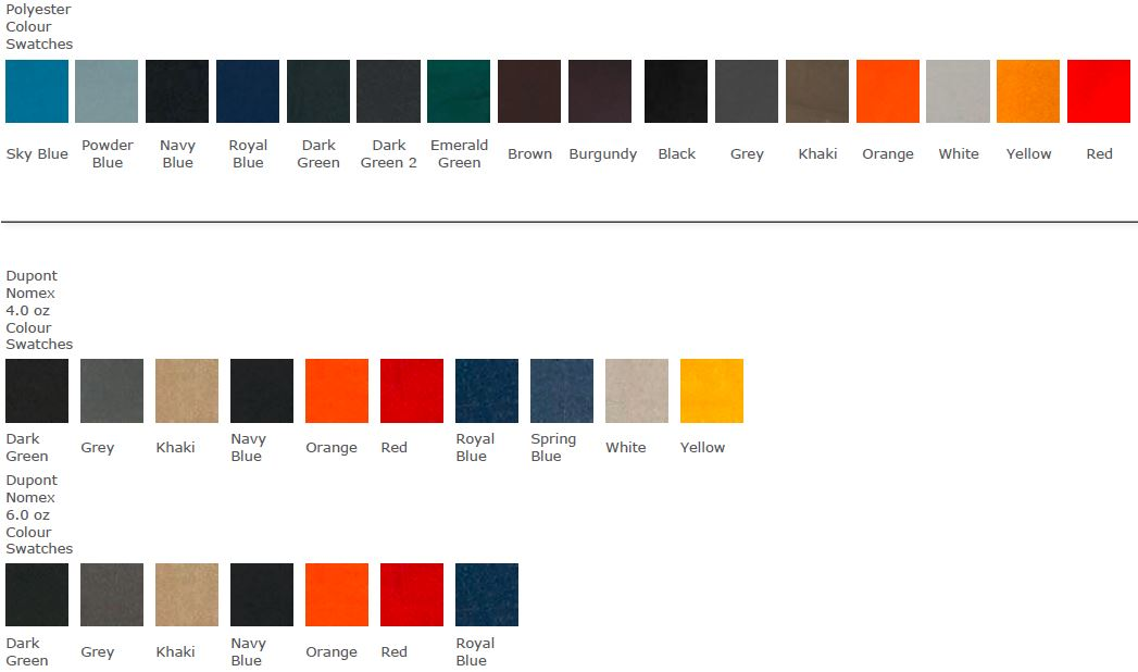 DSM Colour Swatches 1