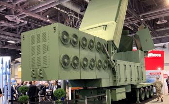 mobile radar on display