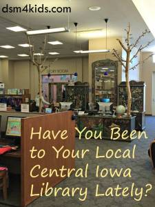 Book Nook: Have You Been to Your Local Central Iowa Library Lately?