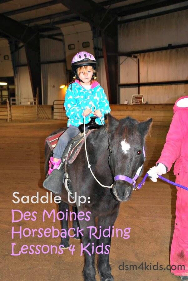 Saddle Up: Des Moines Horseback RidingLessons 4 Kids