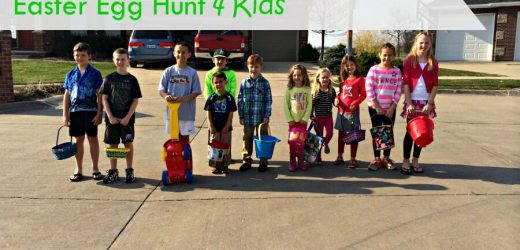 Planning a Neighborhood Easter Egg Hunt 4 Kids