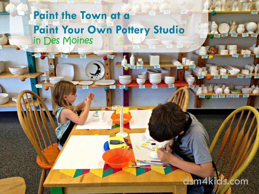 Paint the Town at One of These Paint Your Own Pottery Studios in Des Moines