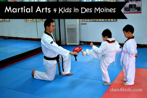 Sport Spotlight: Martial Arts 4 Kids in Des Moines - dsm4kids.com