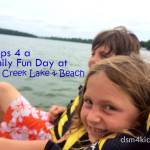 Tips 4 a Family Fun Day at Big Creek Lake & Beach - dsm4kids.com