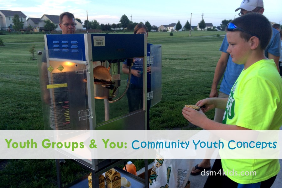 Youth Groups & You: Community Youth Concepts