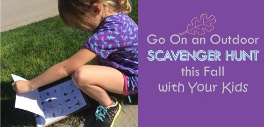 Go On an Outdoor Scavenger Hunt this Fall with Your Kids