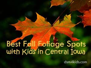 Best Fall Foliage Spots with Kids in Central Iowa - dsm4kids.com