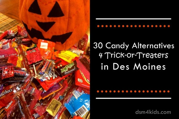 30 Candy Alternatives 4 Trick-or-Treaters in Des Moines - dsm4kids.com