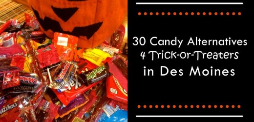 30 Candy Alternatives 4 Trick-or-Treaters in Des Moines