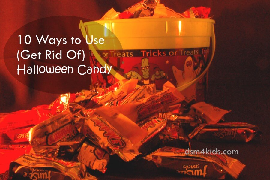 10 Ways to Use (Get Rid Of) Halloween Candy