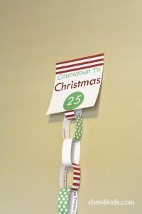 Christmas Countdown 4 Kids in Des Moines {+ FREE Paperchain Printable} – dsm4kids.com