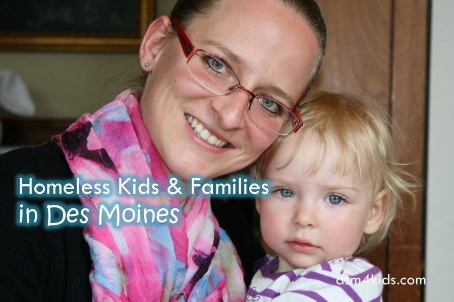 Homeless Kids & Families in Des Moines