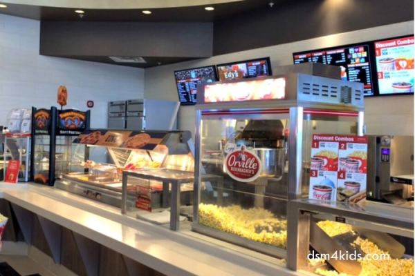 Lights, Camera, Action! A Family Visit to the New Cinemark Altoona and XD Movie Theatre – dsm4kids.com