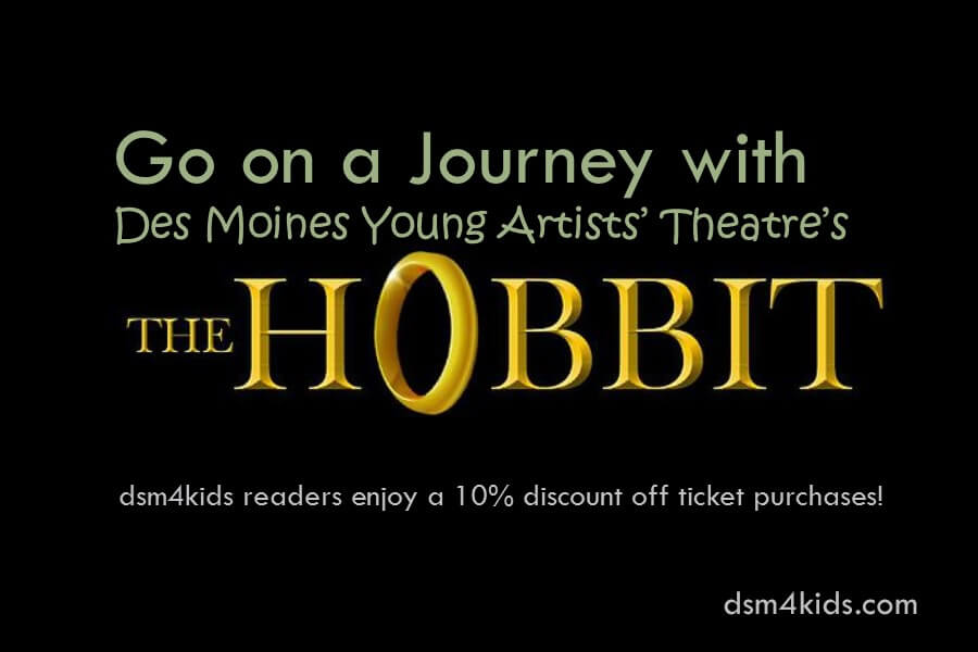 """Go on a Journey with Des Moines Young Artists' Theatre's """"The Hobbit"""""""