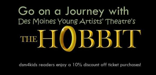 "Go on a Journey with Des Moines Young Artists' Theatre's ""The Hobbit"""
