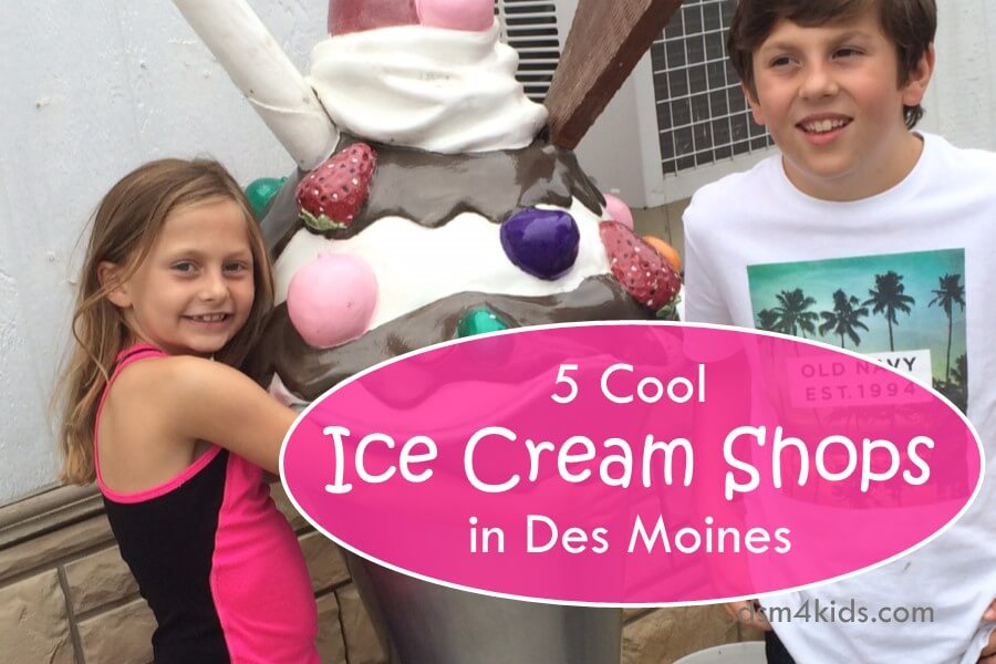 5 Cool Ice Cream Shops in Des Moines