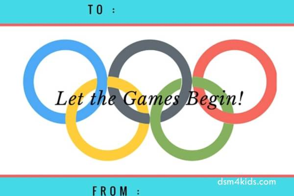 Host A Family Friendly Olympic Party Dsmkids - Olympic party invitation template
