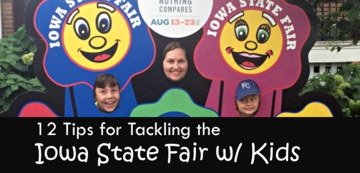 12 Tips for Tackling the Iowa State Fair with Kids