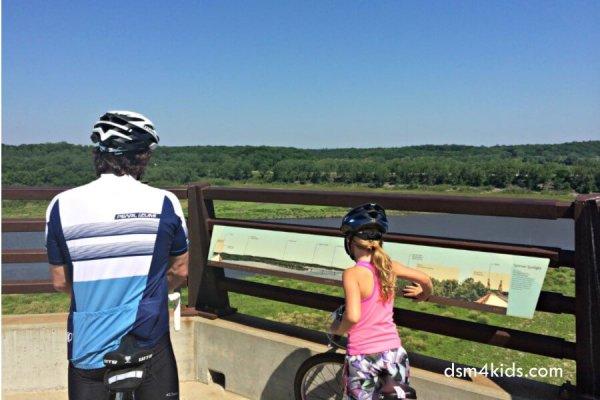 Tips 4 a Family Bike Ride on the High Trestle Trail – dsm4kids.com