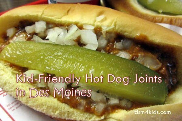 Kid-Friendly Hot Dog Joints in Des Moines - dsm4kids.com