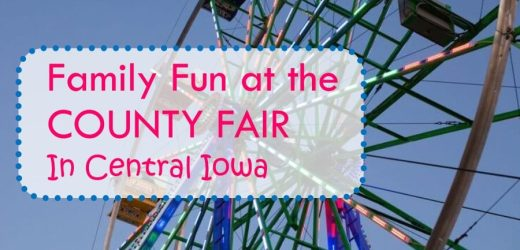 Family Fun at the County Fair in Central Iowa