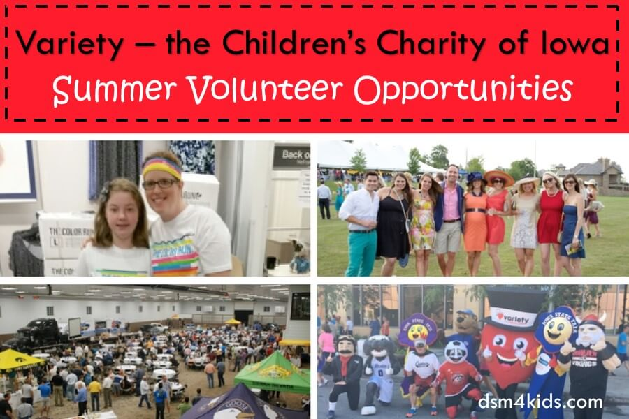 Variety – the Children's Charity of Iowa Summer Volunteer Opportunities
