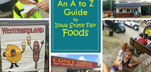 An A to Z Guide to Iowa State Fair Foods