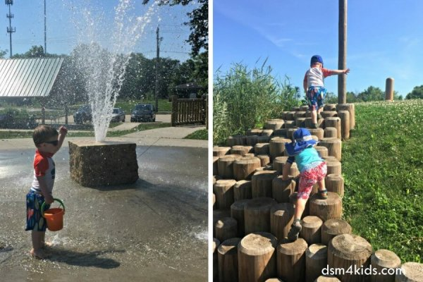 Sargent Park is a Hit on Hot Summer Days - dsm4kids.com