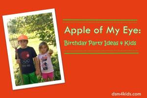 Apple of My Eye: Birthday Party Ideas 4 Kids – dsm4kids.com