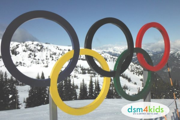 Celebrate the 2018 Winter Olympics Family Style – dsm4kids.com