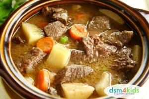 A Hearty Beef Stew for a Cold Winter's Night - dsm4kids.com