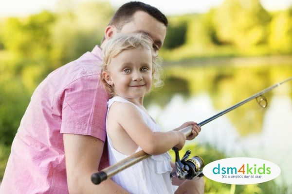 2018 Free Fishing Days Events in Central Iowa - dsm4kids.com