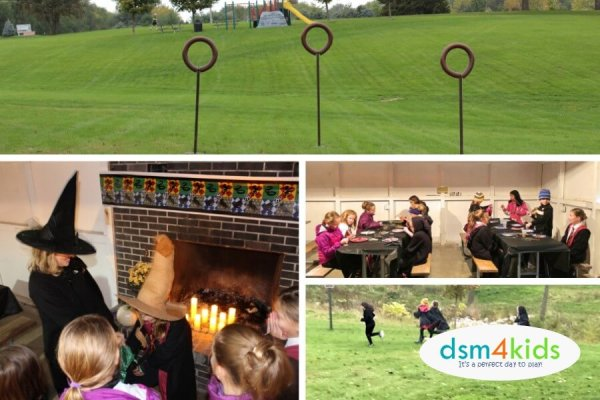 """Harry Potter"" Birthday Party Ideas 4 Kids – dsm4kids.com"