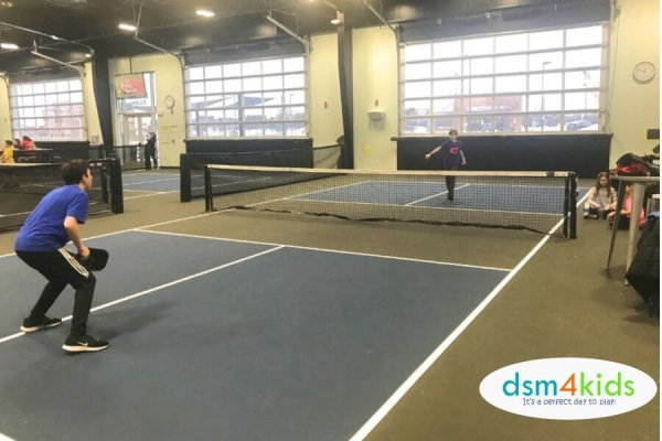 Pickleball: It's a pretty big dill in Des Moines! – dsm4kids.com