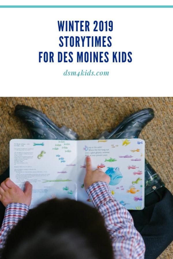 Winter 2019 Storytimes for Des Moines Kids – dsm4kids.com