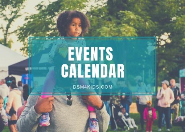 dsm4kids Events Calendar
