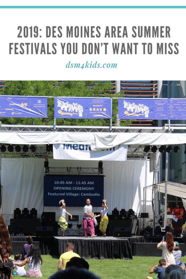 2019: Des Moines Area Summer Festivals You Don't Want to Miss – dsm4kids.com