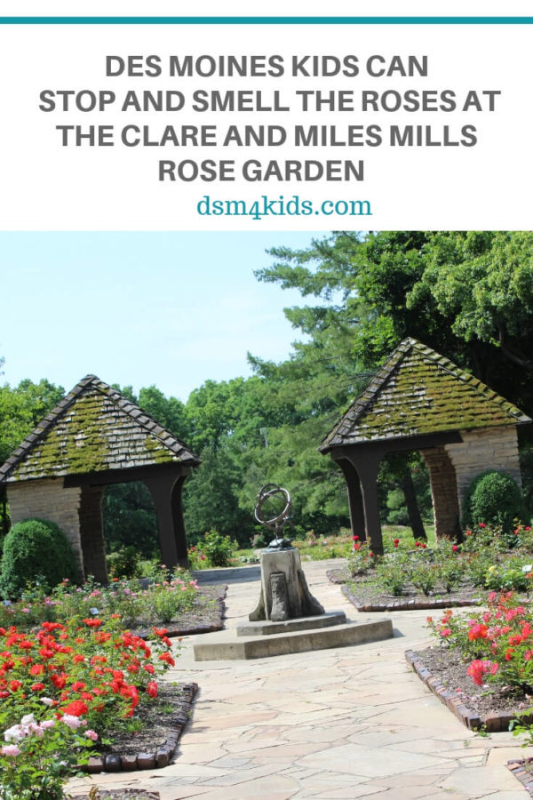 Des Moines Kids Can Stop and Smell the Roses at the Clare and Miles Mills Rose Garden  – dsm4kids.com