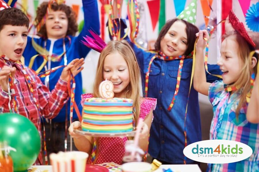 Awesome Birthday Party Venues 4 DSM Kids