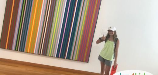 Exploring the Des Moines Art Center with Kids