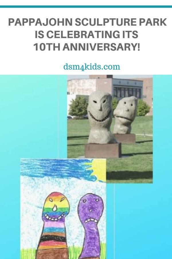 Pappajohn Sculpture Park is Celebrating its 10th Anniversary! – dsm4kids.com