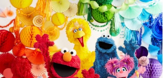 Celebrate Sesame Street's 50th Birthday