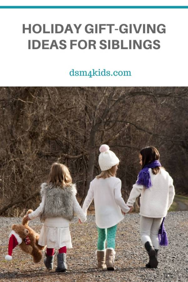 Holiday Gift-Giving Ideas for Siblings – dsm4kids.com
